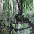 Frêne, 2017, huile sur toile, 121, 9 x 152, 4 cm