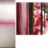 Œillet 04, 2017, huile sur toile, 2 éléments 152, 4 x 101, 6 et 101, 6 x 152, 4 cm