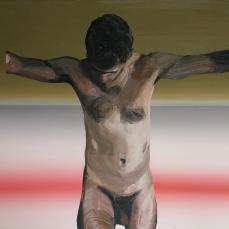 Torse, 2012, huile sur toile, 110 x 150 cm