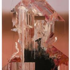 Portrait sans être 2. 2017, huile sur toile, 122 x 91 cm