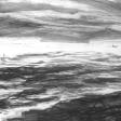 Vue de Djerba (pêcheur), 2007, fusain sur papier, 50 x 60 cm