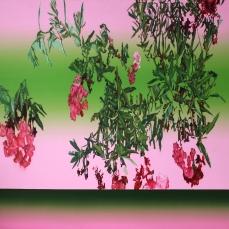 Laurier (2), 2012, huile sur toile, 110 x 150 cm