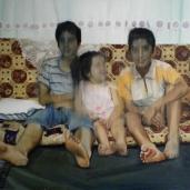 Enfants G., 2009, huile sur toile, 110 x 150 cm