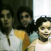 Y. G. et sa famille, 2009, huile sur toile, 110 x 150 cm