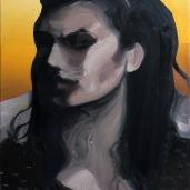 Passante, 2011, huile sur toile, dimensions perdues