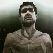 H. G. (face), 2011, huile sur toile, dimensions perdues