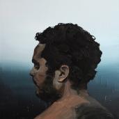 M. F. 2011, huile sur toile, dimensions perdues