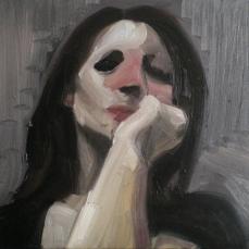 Passante, 2010, huile sur toile, dimensions perdues