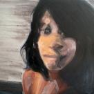 I. M., 2010, huile sur toile, dimensions perdues