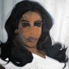 Mariée, 2010, huile sur toile, dimensions perdues