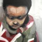 Enfant, 2010, huile sur toile, dimensions perdues
