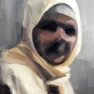 Inconnue, 2010, huile sur toile, dimensions perdues