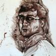 Autoportrait, 2006, encre sur papier, 21 x 30 cm