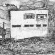 Usine, 2006, encre sur papier, 21 x 30 cm