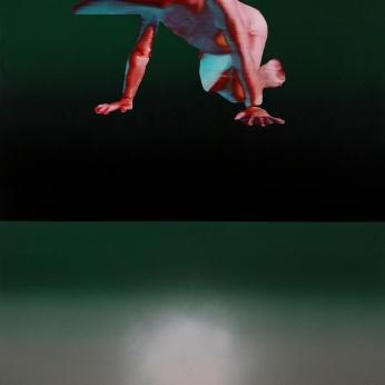 KWG #hors-sol, 2019, huile sur toile, 183 x 126 cm