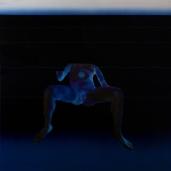 Le Poséidon, 2019, huile sur toile, 125 x 120 cm
