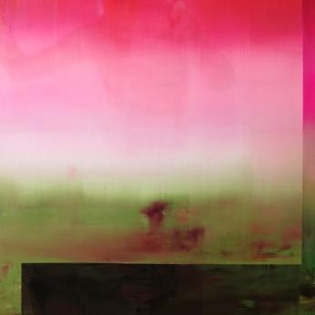 Bruine, 2019, huile sur toile, 123 x 103 cm