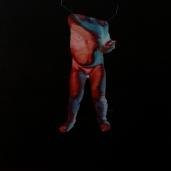 La Renne, 2019, huile sur toile, 122 x 92 cm
